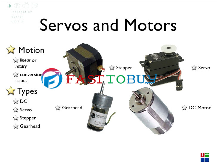 carlottaling the main threen types of servo motor